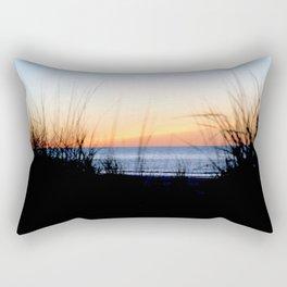 Through Dunes Out to Sea Rectangular Pillow