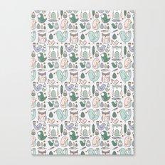 Little Birdies Canvas Print