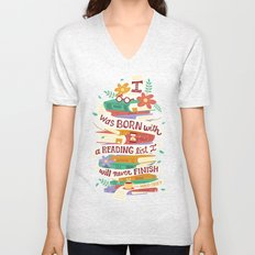 Reading list Unisex V-Neck