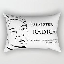 Minister Radically Rectangular Pillow