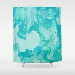 Sea Vapours Shower Curtain