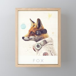 Star Team - Fox Framed Mini Art Print