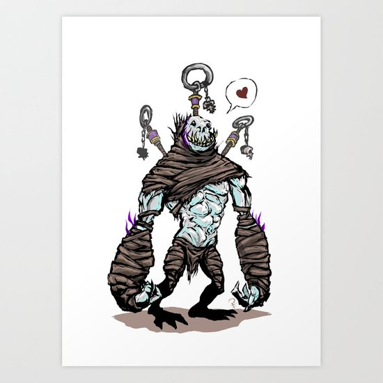 BFF - Diablo - Gargantuan Art Print