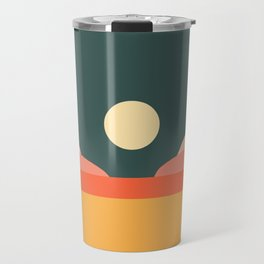 Geometric Landscape 14 Travel Mug