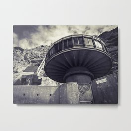 Mushroom House La Jolla California Metal Print