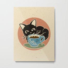 Cafe Whim Metal Print
