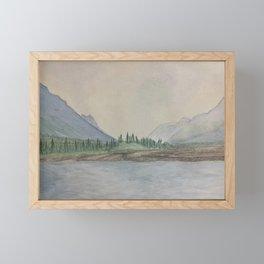 Gates Framed Mini Art Print