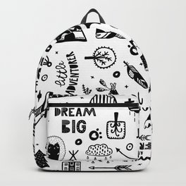 Wild And Free, Scandinavian Kids Backpack