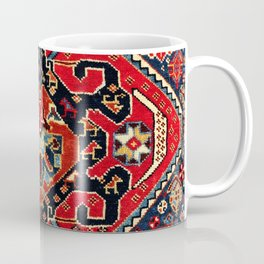 Qashqa'i Antique Fars Persian Bag Face Print Coffee Mug