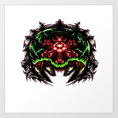 Super Metroid: Angry Baby Graphic Art Print