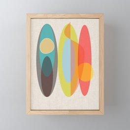SURF  #Society6 #decor #buyArt Framed Mini Art Print