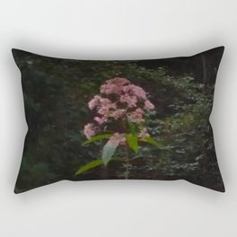 Lone Flower in the Country Rectangular Pillow