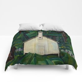 Emily Carr Indian Church Comforters