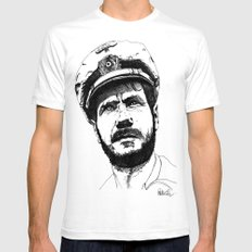 Das Boot 2X-LARGE White Mens Fitted Tee