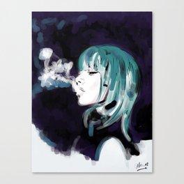 Smoking Colors. Canvas Print