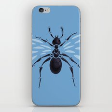 Weird Abstract Flying Ant iPhone & iPod Skin