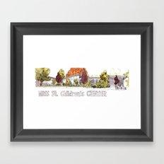 Moss Street Framed Art Print