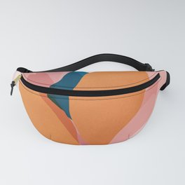 Abstraction_Floral_Blossom Fanny Pack