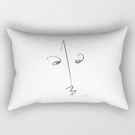 Demeter Moji d1 3-2 w Rectangular Pillow