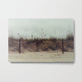 Gloomy Dunes Metal Print