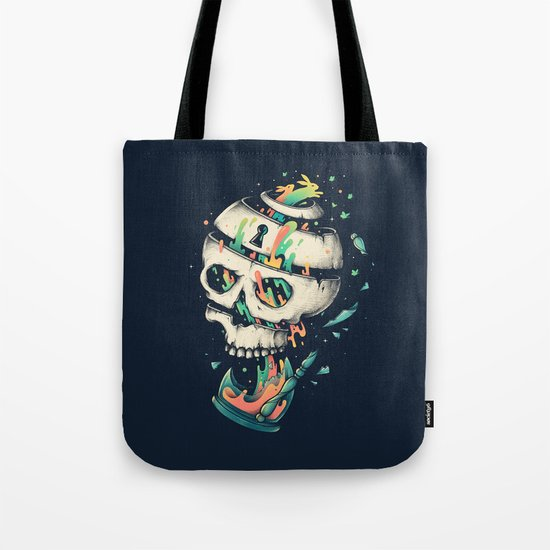 Fragile Delusion of Life and Death Tote Bag