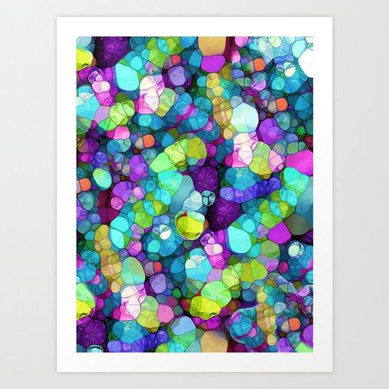 Dream Colors Art Print