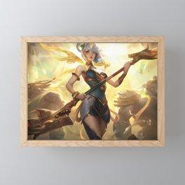 Lunar Empress Lux League of Legends Framed Mini Art Print