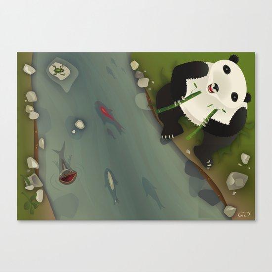 pppanda! Canvas Print