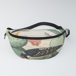 Woodpeckers And Cacti Fanny Pack