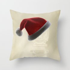 Waiting for christmas Throw Pillow