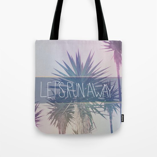 Let's Run Away: Monte Verde, Costa Rica Tote Bag