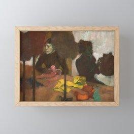 Edgar Degas - The Milliners Framed Mini Art Print