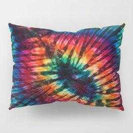 Tye Dye Rainbow Singularity Pillow Sham