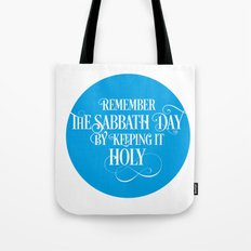 The Fourth Commandment Tote Bag