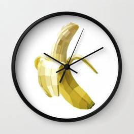 Banana (white variant) Wall Clock