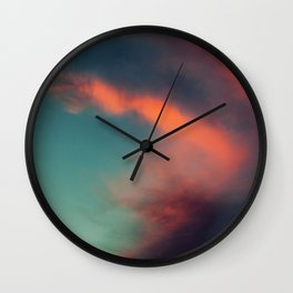 Excuse Me While I Kiss the Sky Wall Clock
