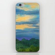 Speechless Desert Singing iPhone & iPod Skin