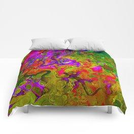 Rainbow Snakes Comforters