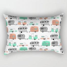 Vintage caravan pattern Rectangular Pillow
