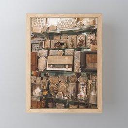 Market Gems Framed Mini Art Print