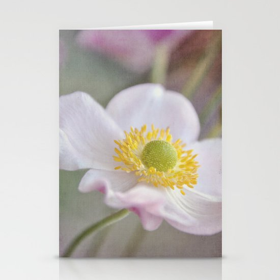 Anemone love I Stationery Cards