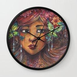 Leona's Dreams Wall Clock
