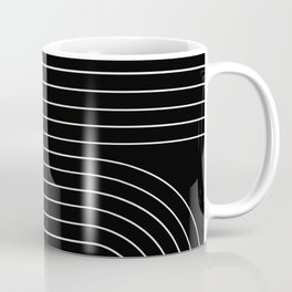 Minimal Line Curvature II Coffee Mug