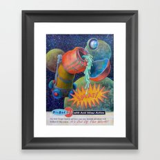 Splatnik Adventure Framed Art Print