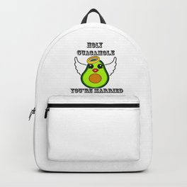 Holy Guacamole You're Married Backpack