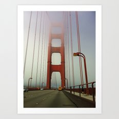 San Francisco: Golden Gate Bridge Art Print