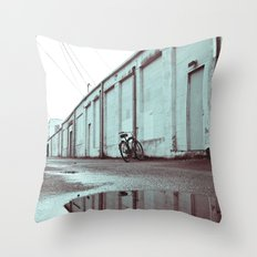 Neighborhood alley Throw Pillow