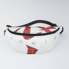 Ronin T Shirt, Samurai warrior without a lord Fanny Pack