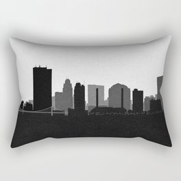 City Skylines: Toledo Rectangular Pillow