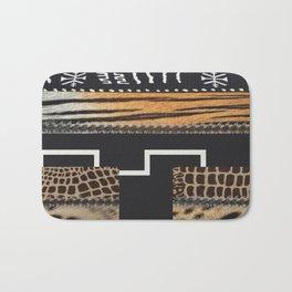 African Tribal Pattern No. 114 Bath Mat
